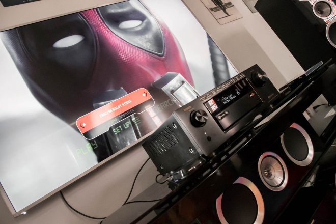 Deadpool on the KEF R Series, Denon X6200W, and VIZIO P Series