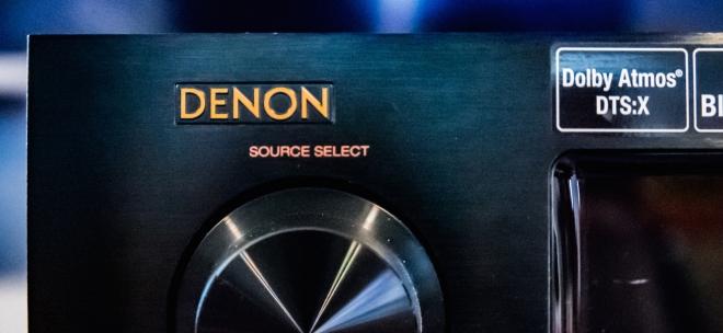Denon AVR-X6200W with Dolby Atmos & DTS:X