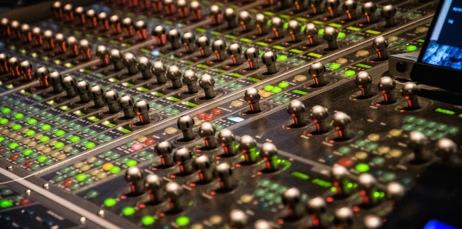 Formosa Group sound mixing board