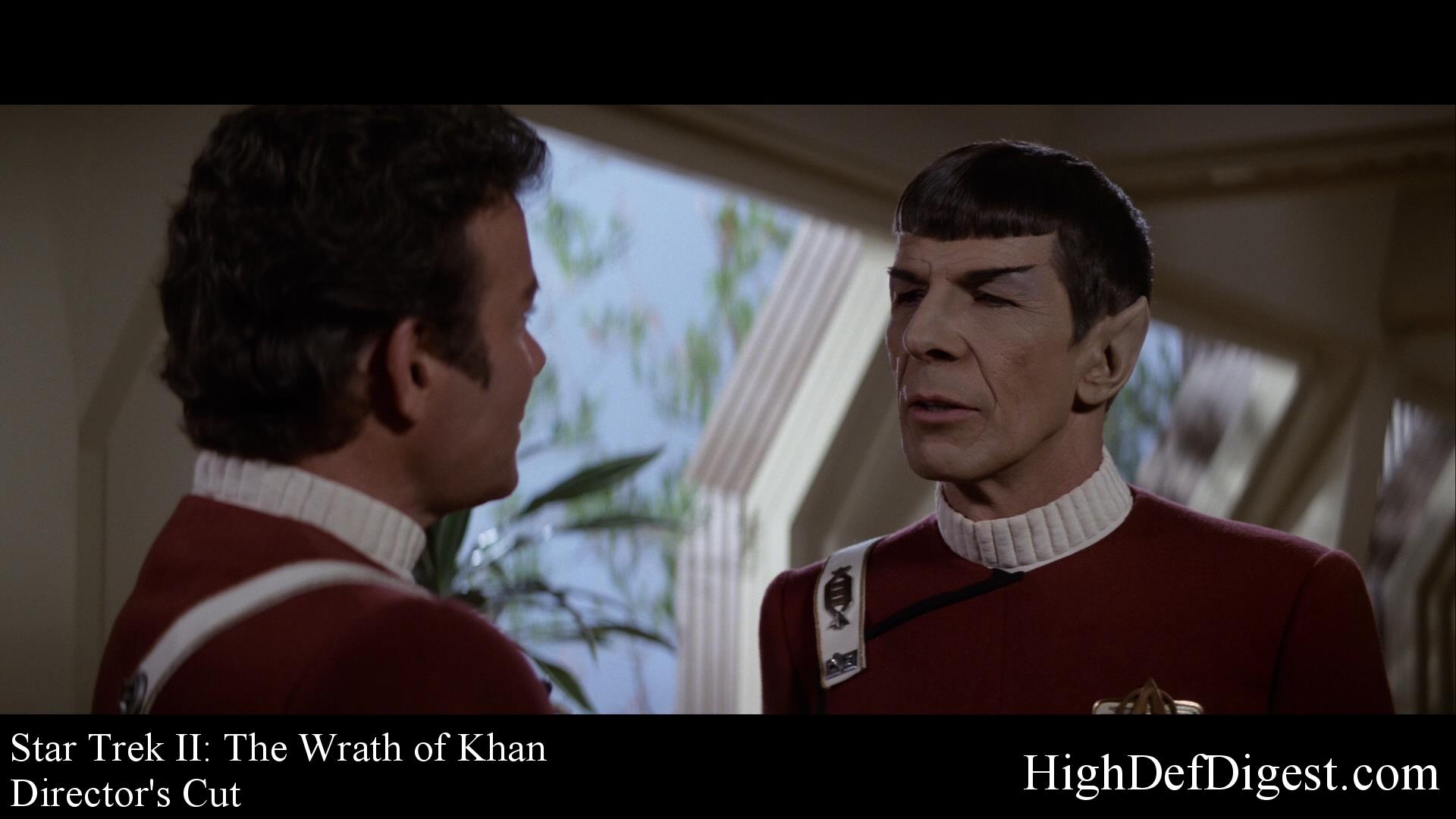 Star Trek: The Wrath of Khan - Comparison 1 (Director's Cut)