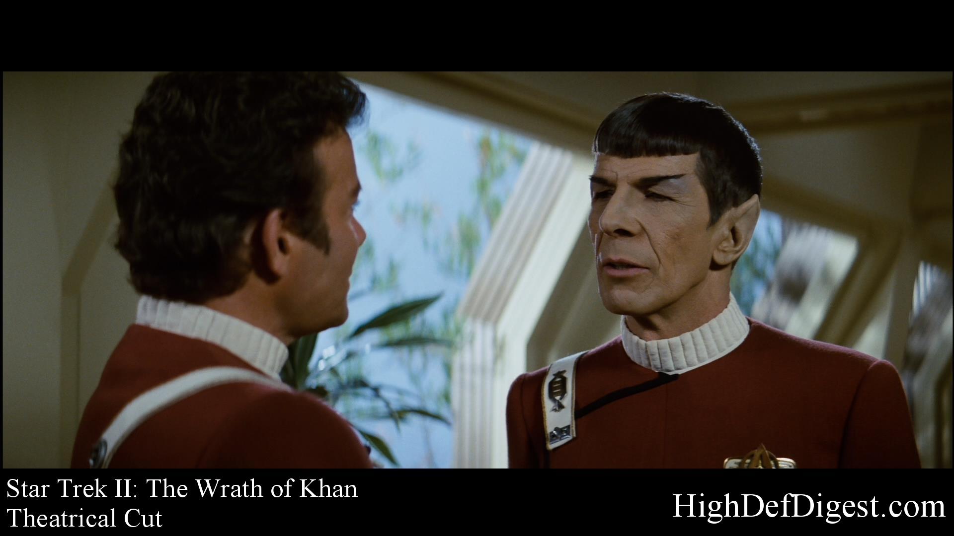 Star Trek: The Wrath of Khan - Comparison 1 (Theatrical Cut)