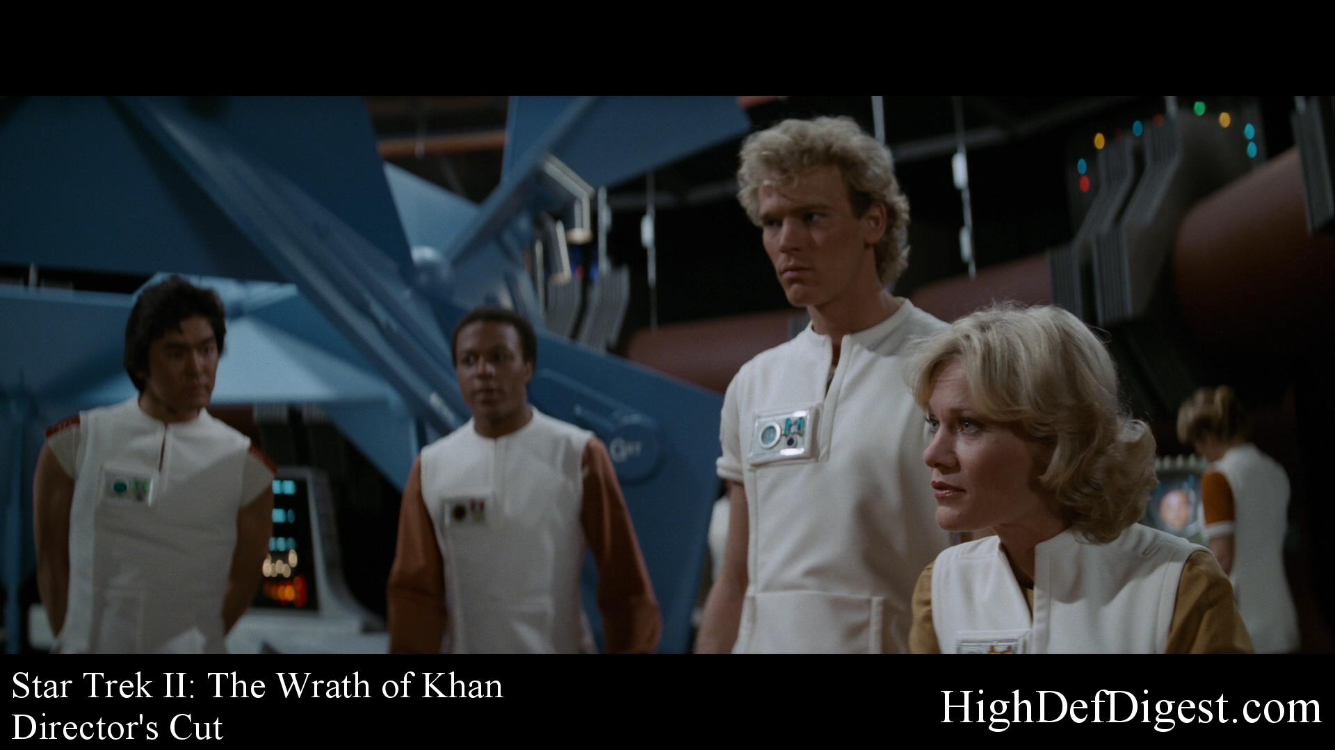 Star Trek: The Wrath of Khan - Comparison 2 (Director's Cut)