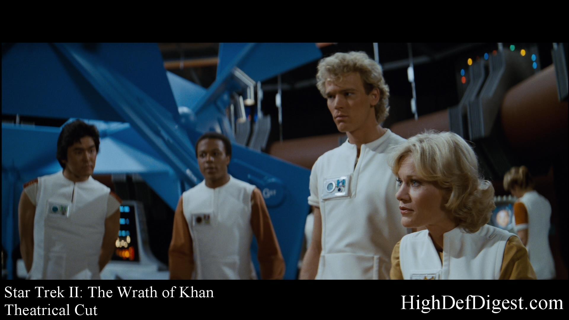 Star Trek: The Wrath of Khan - Comparison 2 (Theatrical Cut)