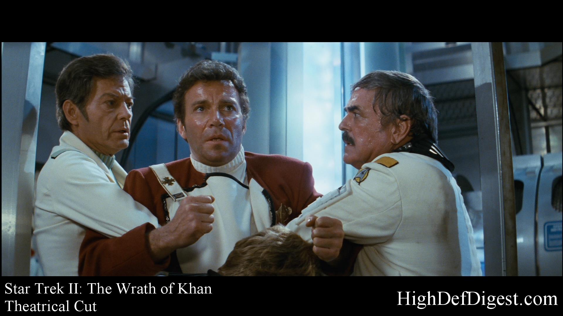 Star Trek: The Wrath of Khan - Comparison 3 (Theatrical Cut)