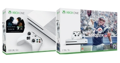 Xbox One S 500GB 1TB Madden 17 Halo news