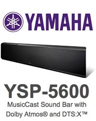 Yamaha ysp 5600 musiccast sound bar review high def digest for Yamaha ysp 5600 amazon