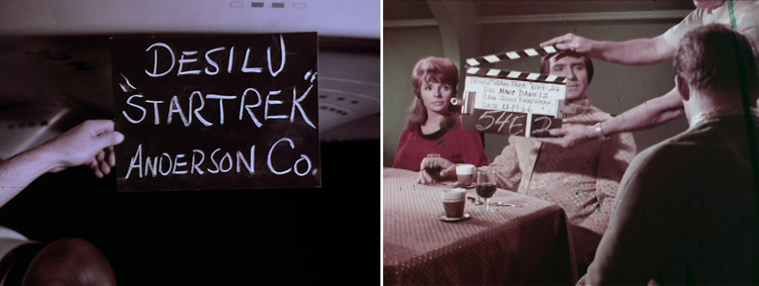 Star Trek Roddenberry Vault - Camera Slates
