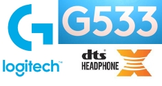 Logitech G533 Wireless Gaming DTS Headphone: X Headset news