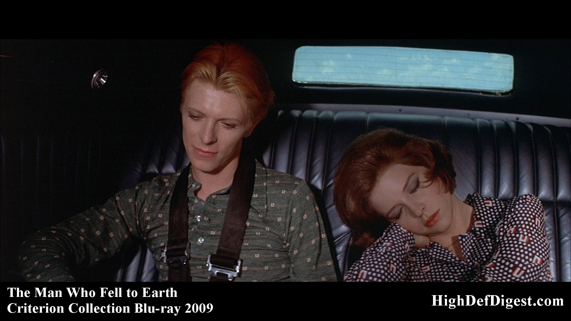 The Man Who Fell to Earth – David Bowie & Candy Clark – Criterion
