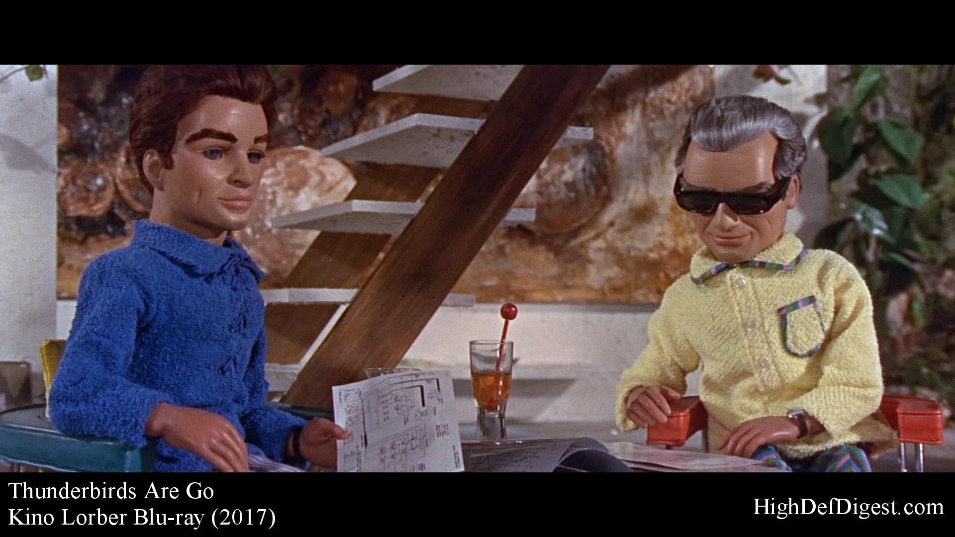 Thunderbirds Are Go – Scott & Jeff Tracy (Kino)