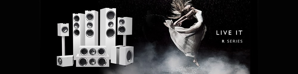 Check out our review of the KEF R Series Loudspeakers
