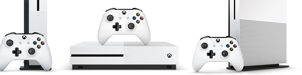 Xbox One S Console (4K HDR with UHD Blu-ray)