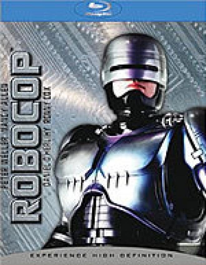 RoboCop [Blu-Ray Box Art]