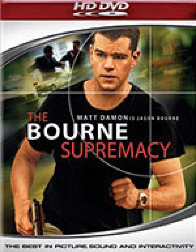 Bourne Supremacy [HD-DVD Box Art]