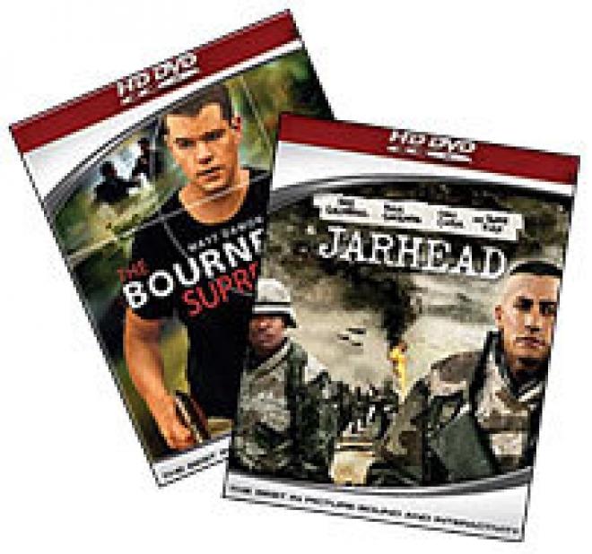 Jarhead, Bourne Supremacy HD-DVD Box Art