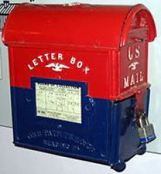 Old-Fashioned Letter Mailbox