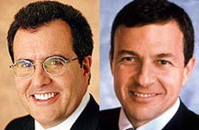 Robert Iger and Peter Chernin