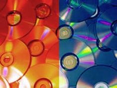 Blue & Red Discs