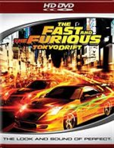 The Fast and the Furious: Toyko Drift [HD DVD Box Art]