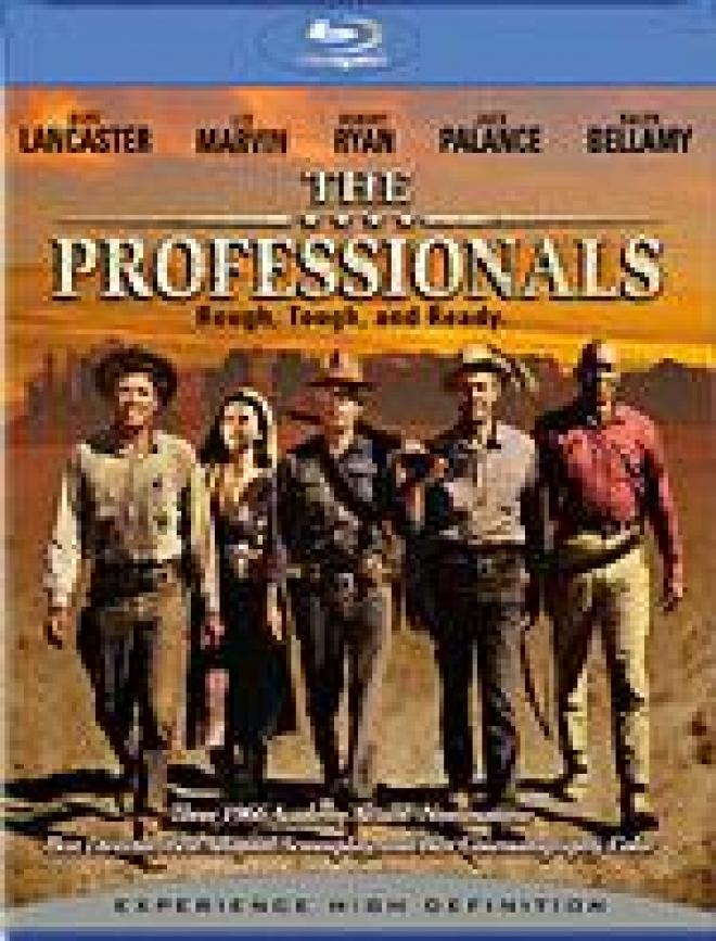 The Professionals [Blu-ray Box Art]