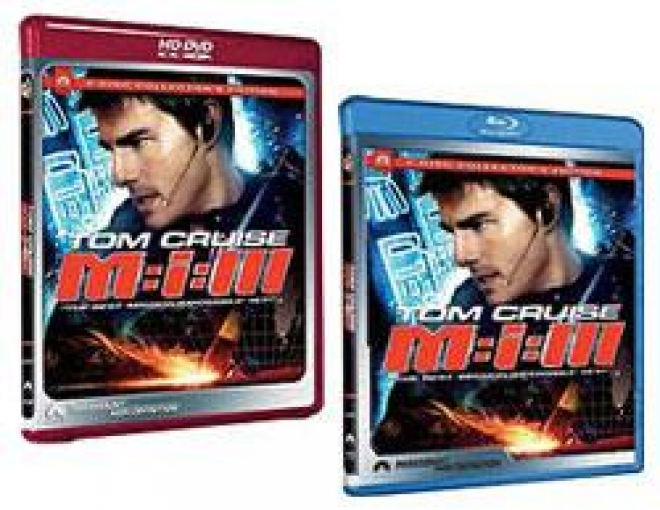 Mission: Impossible III [HD DVD & Blu-ray Box Art]