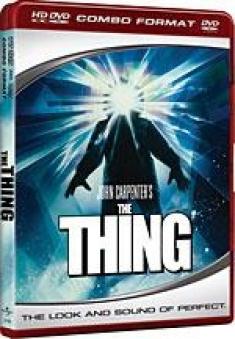 The Thing (1982) [Revised HD DVD Box Art]