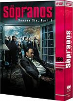 The Sopranos: Season Six, Volume One [HD DVD Box Art]