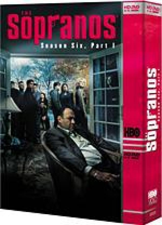 The Sopranos: Season Six, Volume One [HD DVD Box Art]