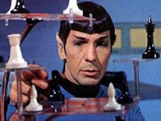 Star Trek [Spock Playing Chess]