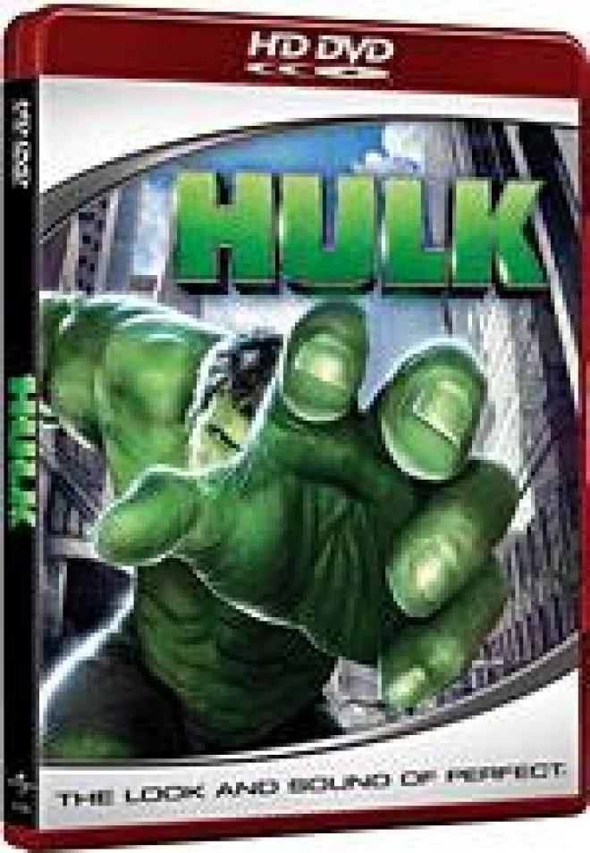 Hulk {HD DVD Box Art]