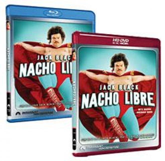 Nacho Libre [HD DVD, Blu-ray Box Art]