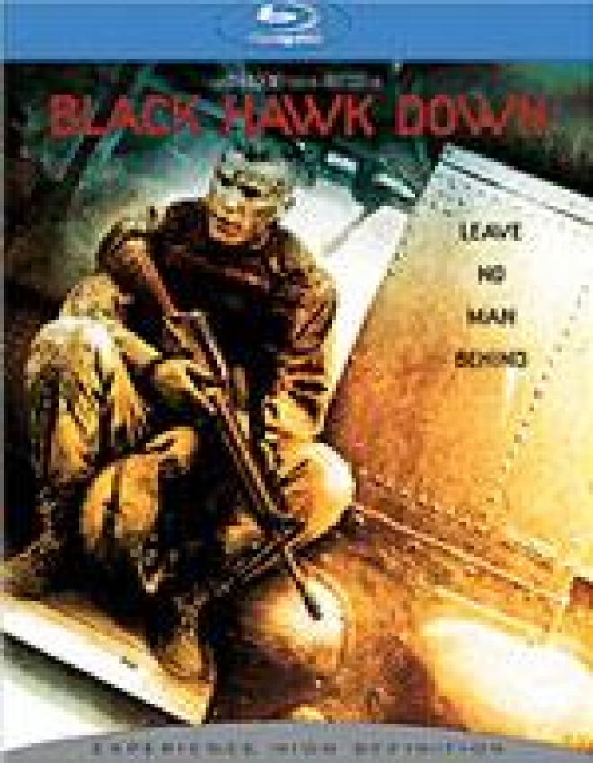Black Hawk Down [Blu-ray Box Art]