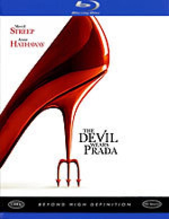 The Devil Wears Prada [Blu-ray Box Art]