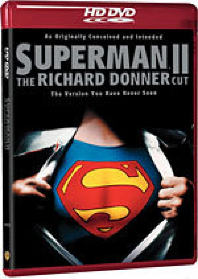 Superman II: The Richard Donner Cut [HD DVD Box Art]