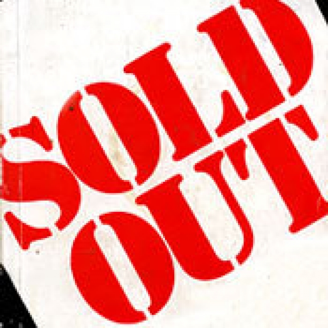 Sold Out [Typography]