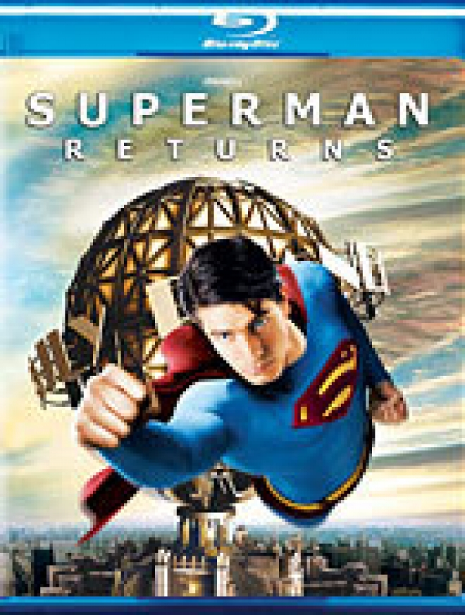 Superman Returns [Blu-ray Box Art]