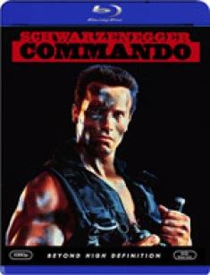 Commando [Blu-ray Box Art]