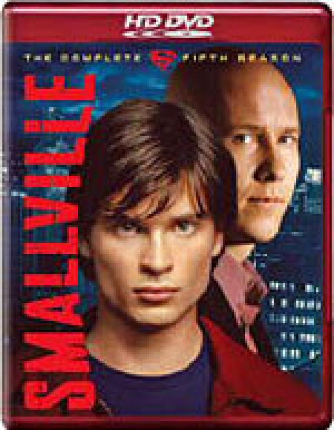 Smallville: The Complete Fifth Season [HD DVD Box Art]