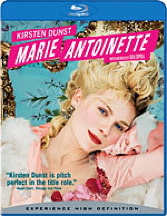 Marie Antoinette [Blu-ray Box Art]