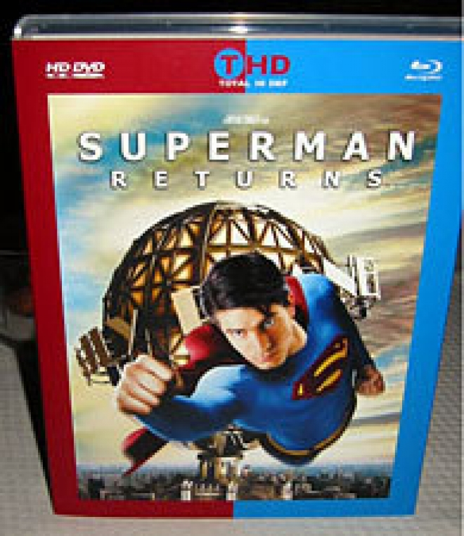 Superman Returns [Total Hi Def Preliminary Packaging]