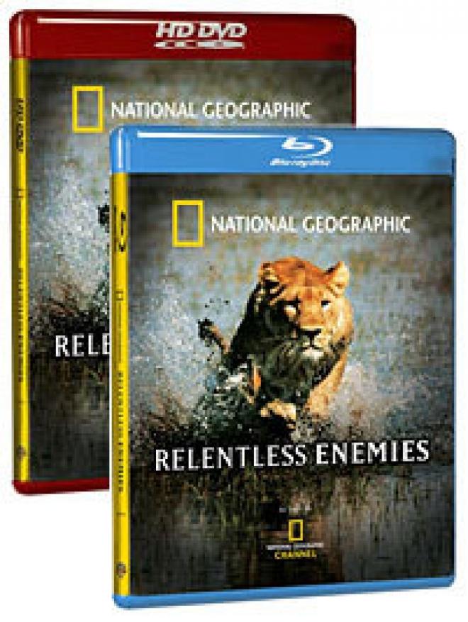 National Geographic: Relentless Enemies [Blu-ray, HD DVD Box Art]