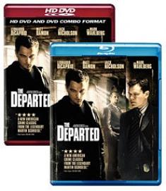 The Departed [Blu-ray, HD DVD Box Art]