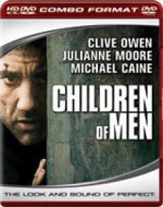 Children of Men [HD DVD Box Art]