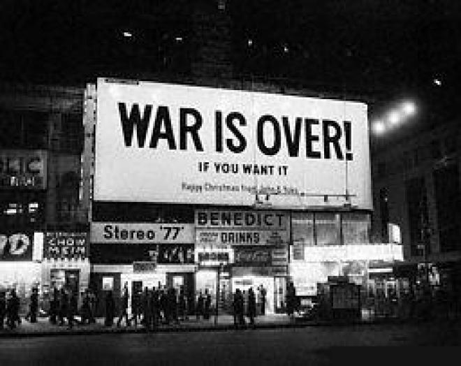 war is over