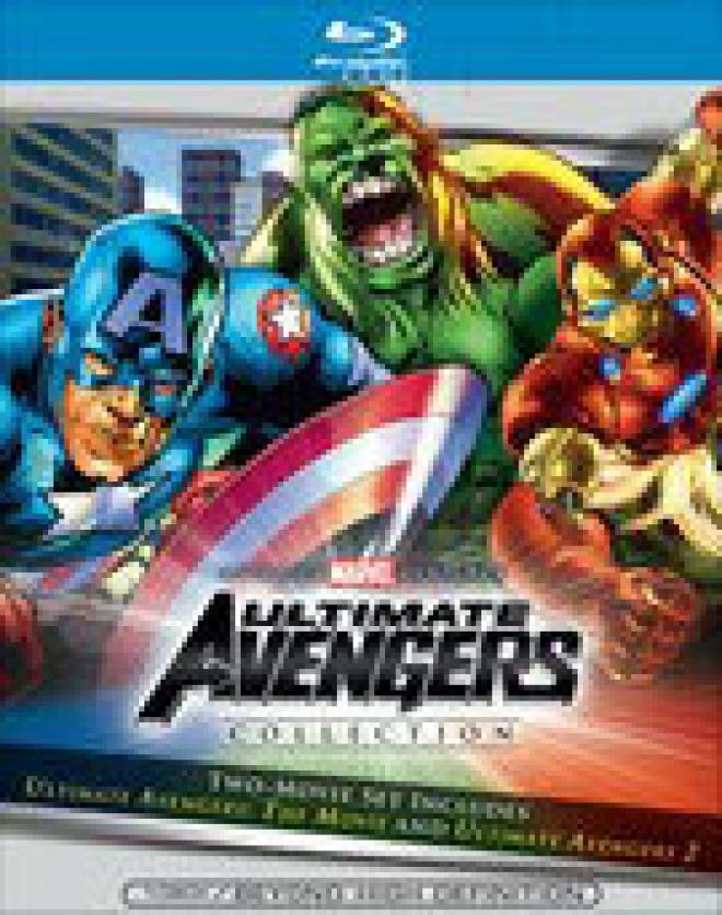 Ultimate Avengers Collection [Blu-ray Box Art]
