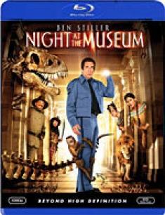 Night at the Museum [Blu-ray Box Art]