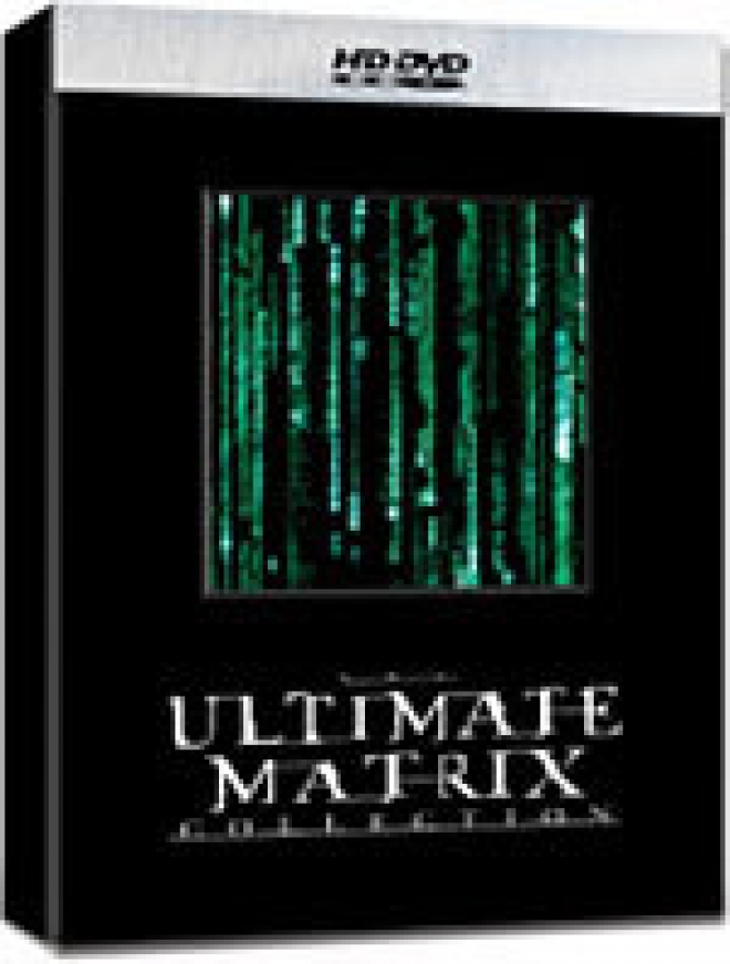 The Ultimate Matrix Collection [HD DVD Box Art]