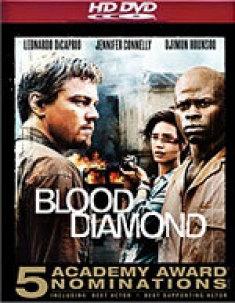 Blood Diamond [HD DVD Box Art]