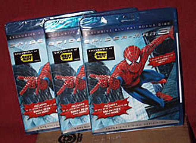 Spider-Man 3 [Blu-ray Promo Box Art]