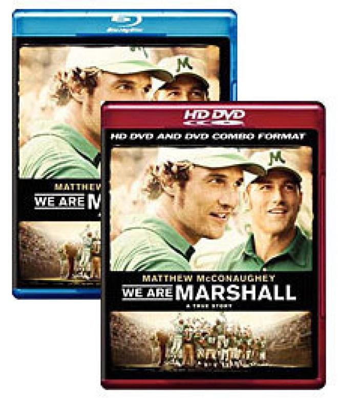 We Are Marshall [Blu-ray, HD DVD Box Art]